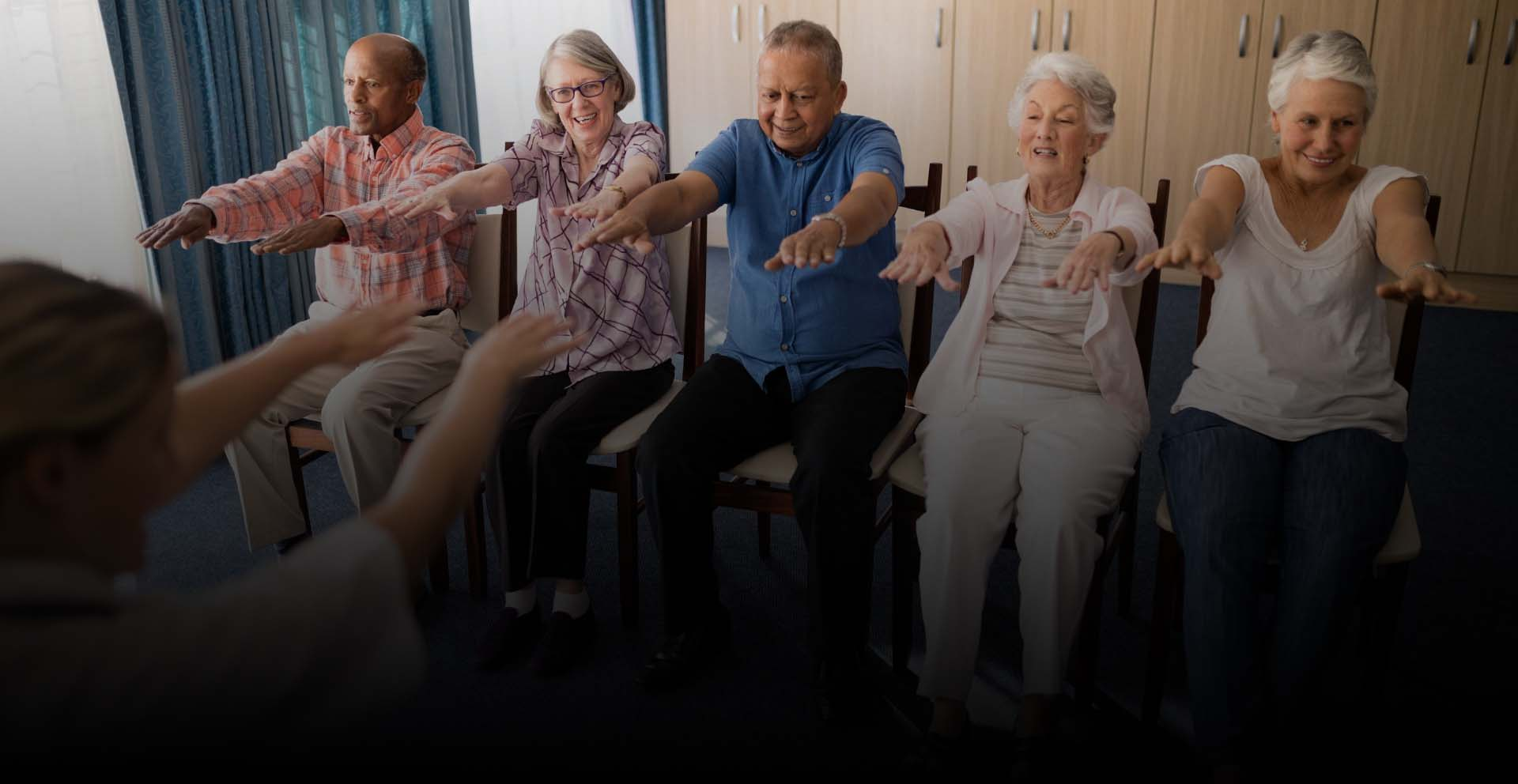 Simple and Easy Chair Exercises for Seniors
