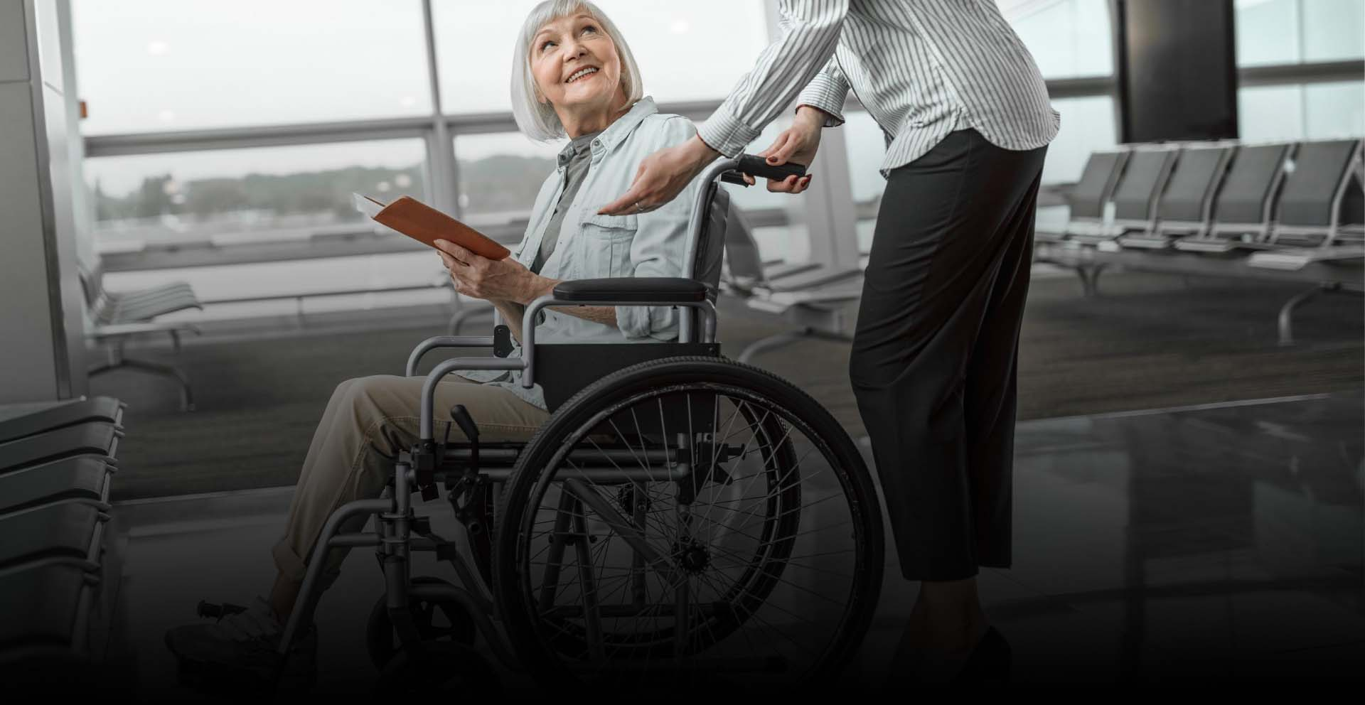 How To Get Wheelchair At Airport for a Person Having Disability or Injury?