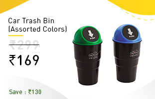 CarTrashBinAssortedColors