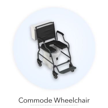 commodeWheelchair