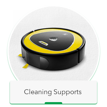 cleaning support
