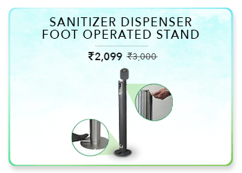 sanitizerDispenserFootOperatedStand